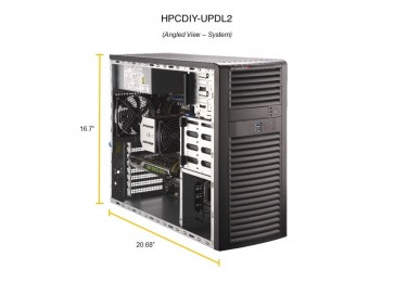 HPCDIY-UPDL2 Computer with A6000